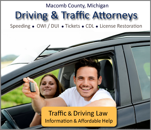 Macomb County OWI / CDL  Lawyers
